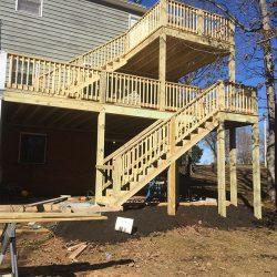 deck stair case